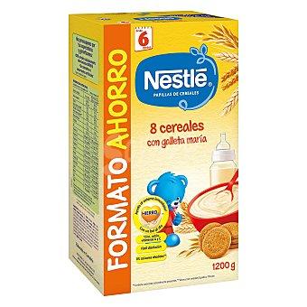 Nestlé Papilla 8 cereales con galleta María 1200 g