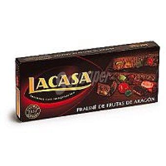 Lacasa Turrón de praliné-frutas de Aragón Caja 300 g
