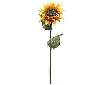Essencial Vara grande de hermoso girasol artificial de 78 cm, para decoración del hogar