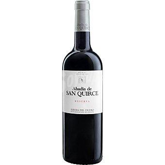 Abadía de San Quirce Vino tinto reserva DO Ribera del Duero Botella 75 cl