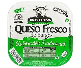 Berta Queso fresco de Burgos, alto contenido en calcio 300 Gramos