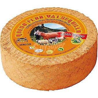 FLOR VALSEQUILLO Queso de cabra semicurado con gofio peso aproximado pieza 4 kg 4 kg