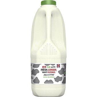 Purity Leche fresca semidesnatada inglesa botella 2 l botella 2 l