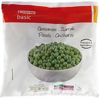 Eroski Basic Guisante fino Bolsa 1 kg