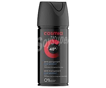 Cosmia Desodorante en spray para hombre sin alcohol y con protección anti-transpirante de hasta 48 horas 150 ml