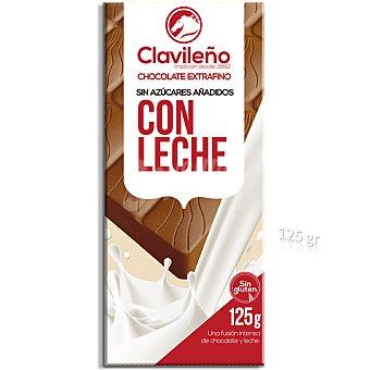 Clavileño Chocolate con leche sin azúcares añadidos 125 g
