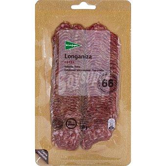 El Corte Inglés Longaniza extra en lonchas Envase 150 g
