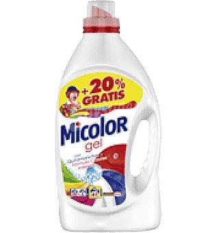 Micolor Detergente líquido para ropa de color 33 lavados