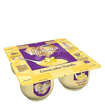 Vitalínea Danone Crema de vainilla 0,9% m.g.  4 unidades de 120 g