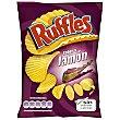 Patatas fritas onduladas con sabor jamón Bolsa de 160 g Ruffles