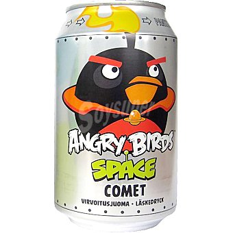 ANGRY BIRDS Space Comet Refresco de cola y naranja con gas Lata 33 cl