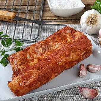 Carrefour Costilla barbacoa tira Envase de 450.0 g.