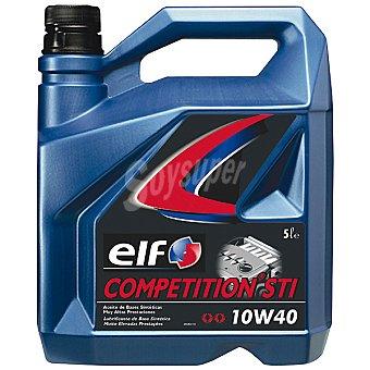 ELF 10W40 STI Aceite motor competition para automóvil 5 l