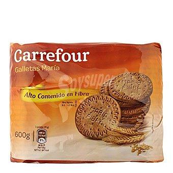 Carrefour Galletas María integral rica en fibra 600 g
