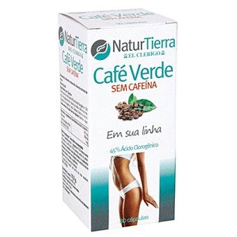 NaturTierra Café verde sin cafeína 30 cápsulas envase 120 g 30 c