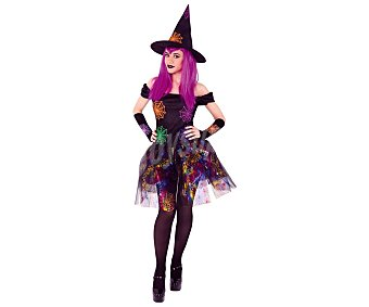 Rubie's Disfraz para adulto de bruja con telarañas, talla única