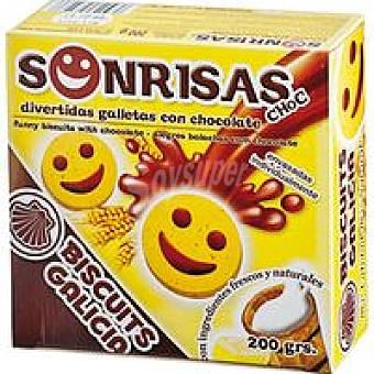 Biscuits Galicia Sonrisa de chocolate Caja 200 g