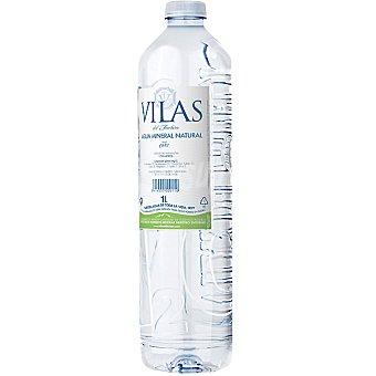 VILAS Agua mineral natural Botella 1 l