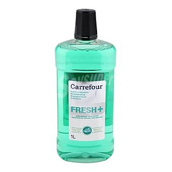 Carrefour Enjuague bucal con fluor 1 L 1 l