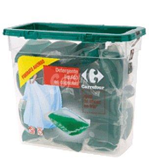 Carrefour Detergente liquido concentrado en cápsulas 28 ud
