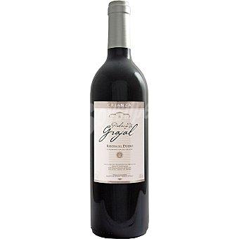 PALACIO DE GRAJAL Vino tinto crianza D.O. Ribera del Duero elaborado para grupo El Corte Inglés Botella 75 cl