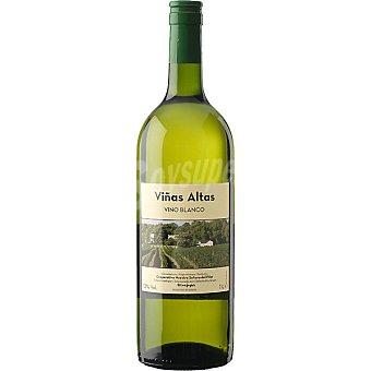 VIÑAS ALTAS Vino blanco joven elaborado para grupo El Corte Inglés Botella 1 l