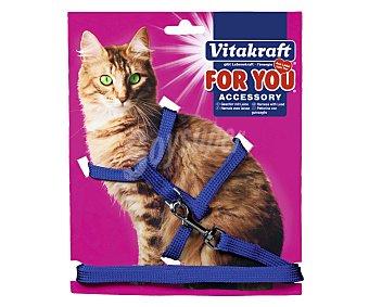Vitakraft Arnés y correa de nylon para gato 1 ud