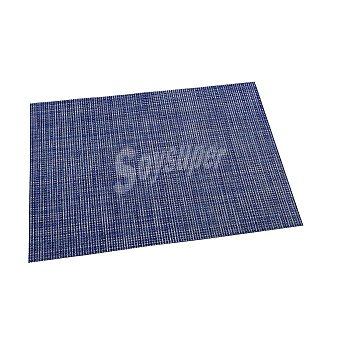 RENBERG Mantel Individual Cuadrado de Vinilo 45x30cm - Azul