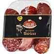 Lote especial de ibéricos chorizo, salchichón y lomo de cebo de campo 50% raza ibérica 75 g c/u sin gluten Envase 825 g Villar