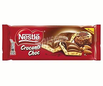 Nestlé Chocolate extrafino crocanti 240 gramos