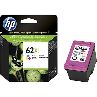 HP Nº 62 XL Cartucho de tinta tricolor 1 Unidad