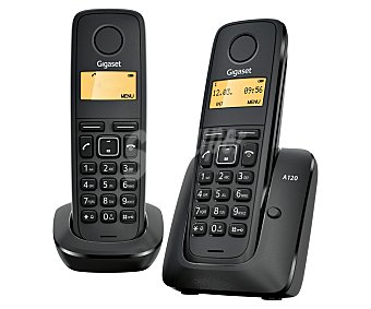 GIGASET Teléfono inalámbrico dúo A120 1 unidad