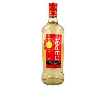 Capel Pisco especial (aguardiente típico de Chile) 100% uva Botella 70 cl