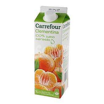 Carrefour Zumo clementina 100 % exprimido 1 l