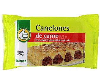 Productos Económicos Alcampo Canelones de carne 400 gramos