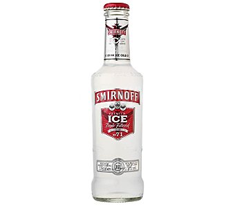 SMIRNOFF ICE Combinado de vodka con limón Botella 275 ml