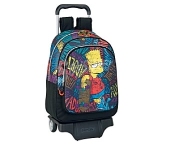 The Simpsons Mochila c/carro Simpsons