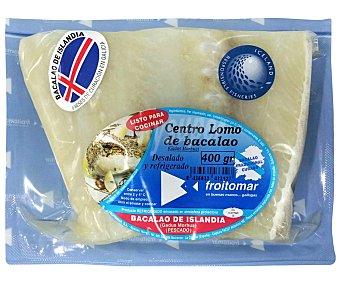 FROITOMAR Bacalao Centro Lomo de Islandia 400 Gramos