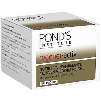 POND'S Institute Regener Activ Nutritiva noche reafirmante rejuvenecedora para piel madura con micro-cápsulas de retinol y soja Tarro 50 ml