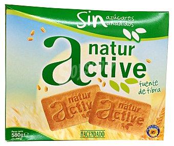 Hacendado Galleta nature active sin azúcar Paquete 580 g