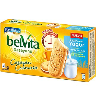 Belvita Fontaneda Galletas sandwich yogur 253 G