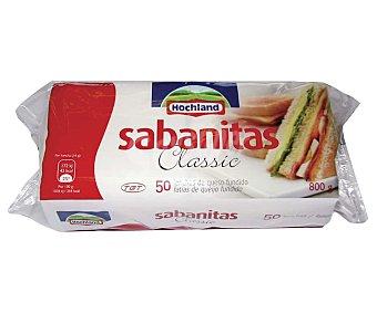 Hochland Sabanitas Queso fundido en lonchas 800 g