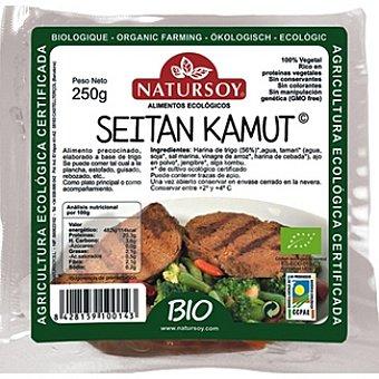 Natursoy Seitán de kamut 100% vegetal Envase 250 g
