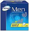 Compresa incontinencia masculina nivel 2 Caja 10 u Tena Men