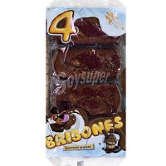 Serafina Bribón de chocolate 4 unid