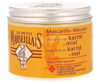 Le Petit Marseillais Mascarilla con manteca de karité y miel para cabello seco y dañado Tarro 300 ml