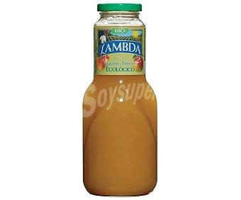 Lambda bio zumo de melocotón y manzana ecológico Botella 1 l