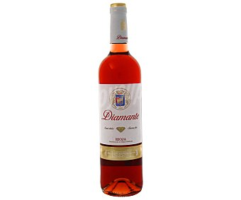 DIAMANTE Vino Rosado Rioja Joven Semi Botella 75 Centilitros