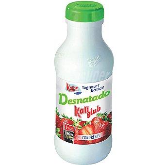 KALISE KALI GLUB Yogur liquido con fresa botella 700
