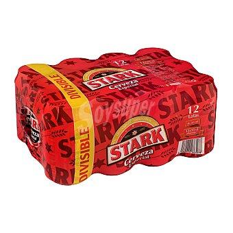 Stark Cerveza rubia especial Lata pack 12 x 330 cc - 3960 cc